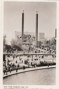 RP: NEW YORK CITY , 1939 ; World's Fair , Court & Hall of Communication