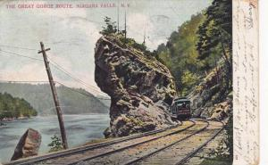 The Great Gorge Route, Niagara Falls,  New York, PU-1906