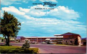 Travelodge Kamloops BC British Columbia Unused Vintage Postcard D41