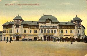 Romania Bucharest Palatul functionarilor publici