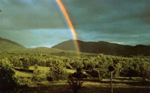 VT - Mount Mansfield. Rainbow