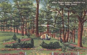 Indiana New Castle Wilbur Wright Memorial In Memorial Park Curteich