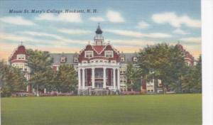 New Hampshire Hookset Mount St Mary's College