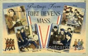Fort Devens, Massachusetts, USA Military Postcard Postcards  Fort Devens, Mas...
