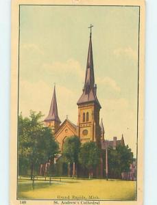 W-Border CHURCH SCENE Grand Rapids Michigan MI A9648