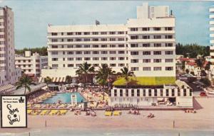 The Sans Souer  Hotel, Swimming Pool, MIAMI Beach, Florida, 1930-1940s