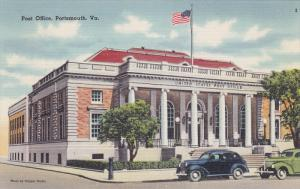 Post Office, Portsmouth, Virginia, 30-40s