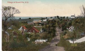 Scenic View of Village of GRAND PRE, Nova Scotia, Canada, 00-10s