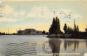 Gambling Related Post Card Broadmoor Casino and Lake Colorado Springs, CO., U...