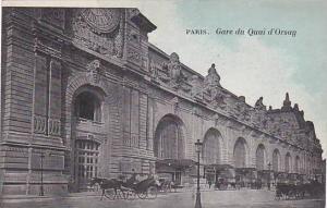 Gare Du Quai d'Orsay, Paris, France, 1900-1910s