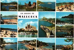 CPA Espagne-Mallorca-Un Saludo de Mallorca (323496)