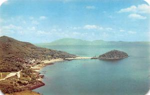 Panama Old Vintage Antique Post Card Taboga Island Panama Bay Unused