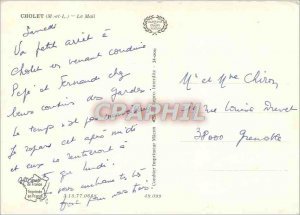 Postcard Modern Cholet (M and L) Mail