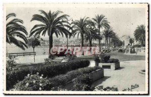 Old Postcard The Cote d & # 39Azur Cannes Croisette Boulevard