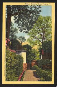 Kitchen Gardens Mt Vernon VA unused c1950