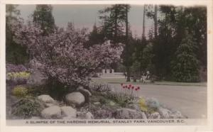 RP: Harding Memorial , Stanley Park , VANCOUVER , B.C. , Canada , 20-40s