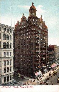 Columbus Memorial Building, Chicago, Illinois, Early Postcard, Unused