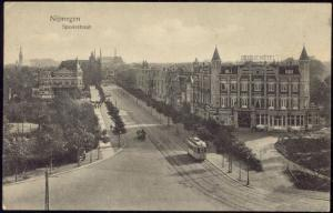 netherlands, NIJMEGEN, Spoorstraat, TRAM, Oranje Hotel