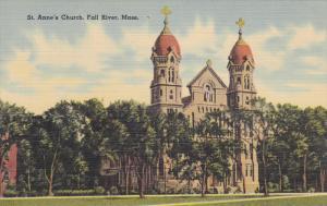 FALL RIVER, Massachusetts, 1930-1940´s; St. Anne's Church