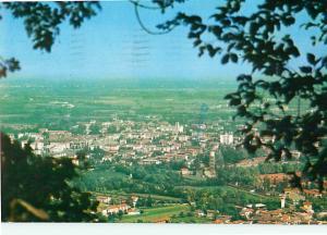 Aviano Italy Aerial View Panorama  Sacile Mountain View  Postcard  # 8181