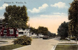 IA Postcard, Iowa Post Card Old Vintage Antique Collectables For Sale Vermont...