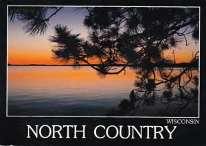 Wisconsin Sunset In The North Country 1988