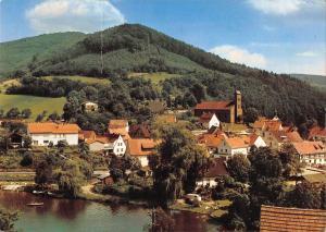 GG12179 Schoenau Pfalz im Romantischen Wasgau Teilansicht mit Koenigsweiher
