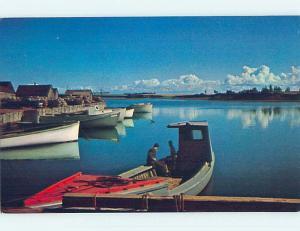 Unused Pre-1980 TOWN VIEW SCENE Malpeque Bay Prince Edward Island PE p8859