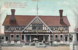 CHICAGO, Illinois, 1912; White City , 63rd St. & S. Park Ave., Infant Incubators