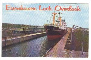 Overlook, Eisenhower Lock, Massena, New York,  40-60s