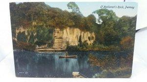 Vintage Postcard O  Hallorans Rock Fermoy Ireland