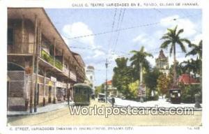 Panama Panama City C Street, Variadades Theatre
