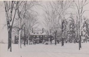 Massachusetts Lenox Winter Time Main Entrance Eastover Resort Dexter Press