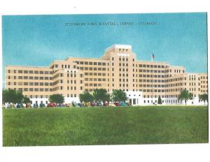 Fitzsimons Army Hospital Denver Colorado 1940s