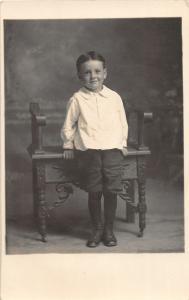 F36/ Jackson Ohio RPPC Postcard c1907 Ernest Harper Child 4