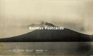 Bismarck Archipelago PNG, NAKANAI, New Britain, Mt Father Volcano (1910s) RP