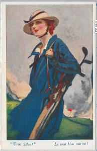 59732 - VINTAGE POSTCARD - Glamour Ladies Donnine - SPORT: GOLF