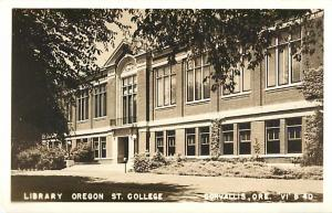 RPPC of Library of Oregon State College Corvallis OR