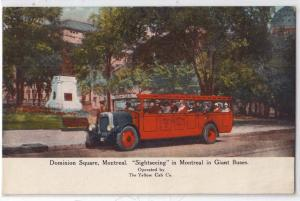Sightseeing Bus, Dominion Square, Montreal