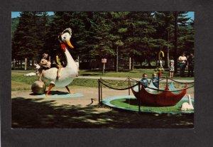 NH Santa's Village Amusement Park Jefferson New Hampshire Fountain Rides