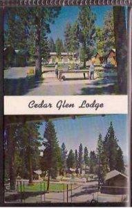 Ca Lake Tahoe Cedar Glen Lodge