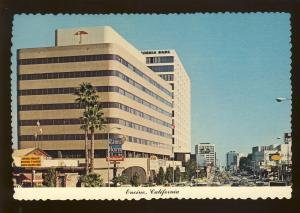 Encino, California/CA Postcard, Downtown, Rams Horn Restaurant, Near Mint!