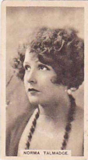 Abdulla Vintage Cigarette Card Cinema Stars Brown Back No 15 Norma Talmadge  ...