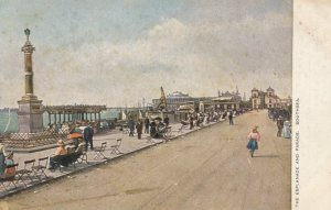 SOUTHSEA, Portsmouth, England, UK, 1900-10s The Esplanade and Parade, TUCK # 783