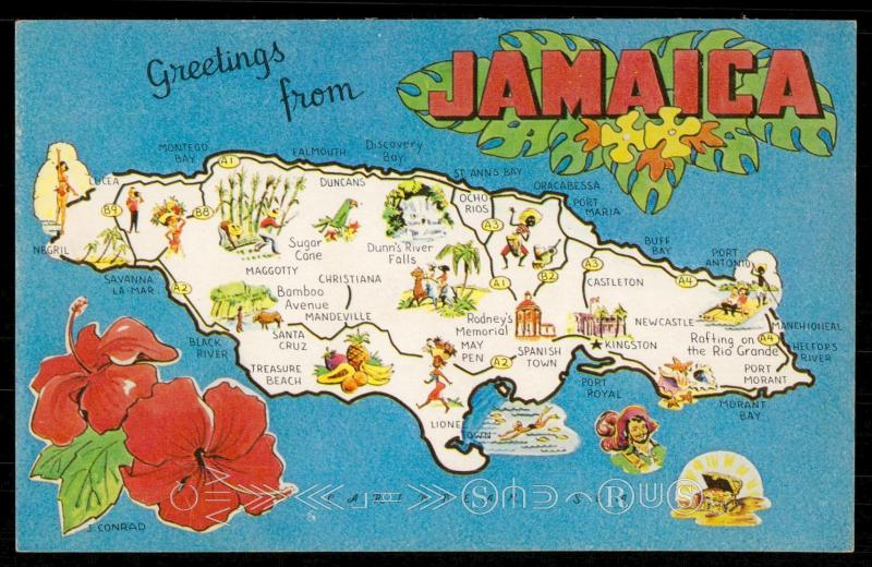 Greetings from Jamaica