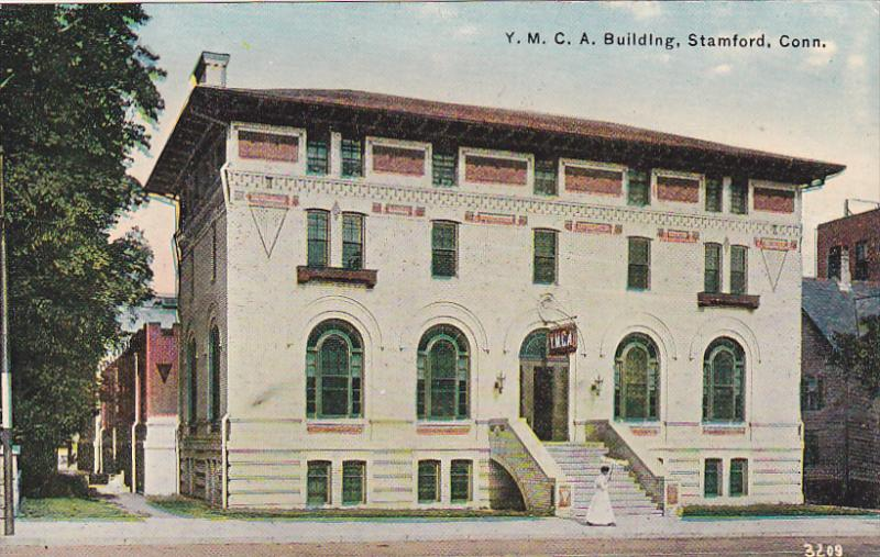 STAMFORD, Connecticut, 1900-1910s; Y. M. C. A. Building