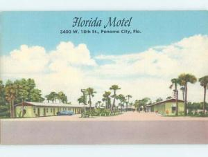 Unused Linen FLORIDA MOTEL Panama City Florida FL M5662-34