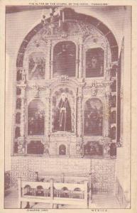 The Altar of the Chapel of the Hotel, Fundicion, Zimapan, Hgo,  Mexico, 00-10s