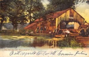 Bloomfield New Jersey Old Saw Mill Waterfront Antique Postcard K67772