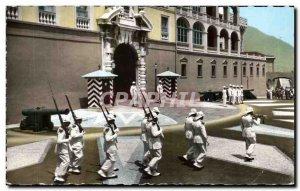 Old Postcard From Monaco Principality Releve S S A guard Prince of Monaco